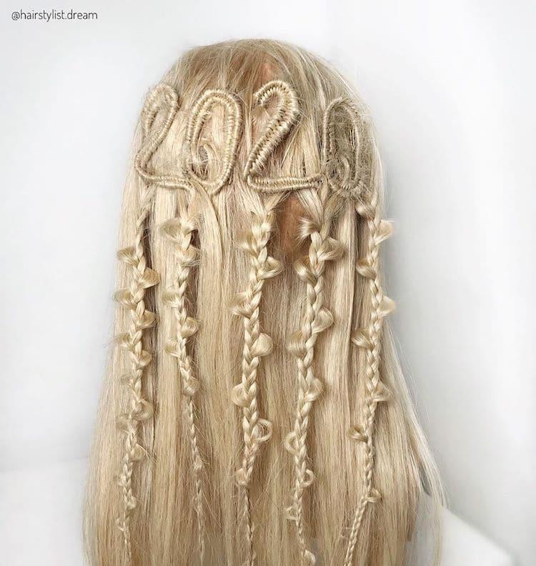 Peinados de trenzas por Milena