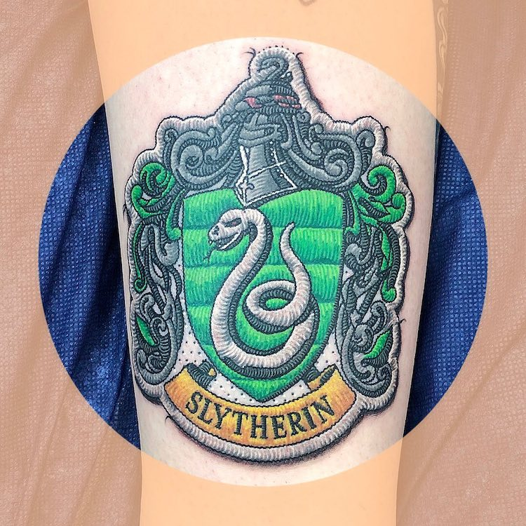 Harry Potter Patch Tattoo