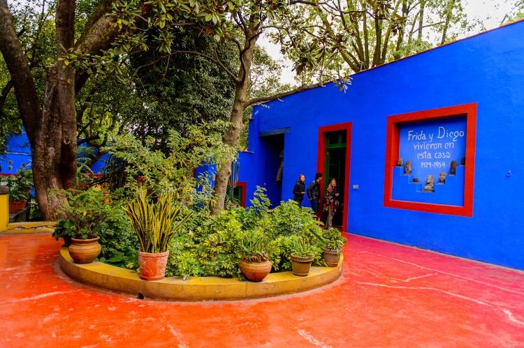 Museo Frida Kahlo, también conocido como la Casa Azul