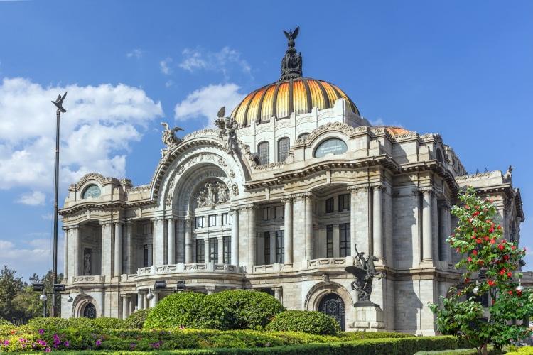 Palacio de Bellas Artes en la Ciudad de México