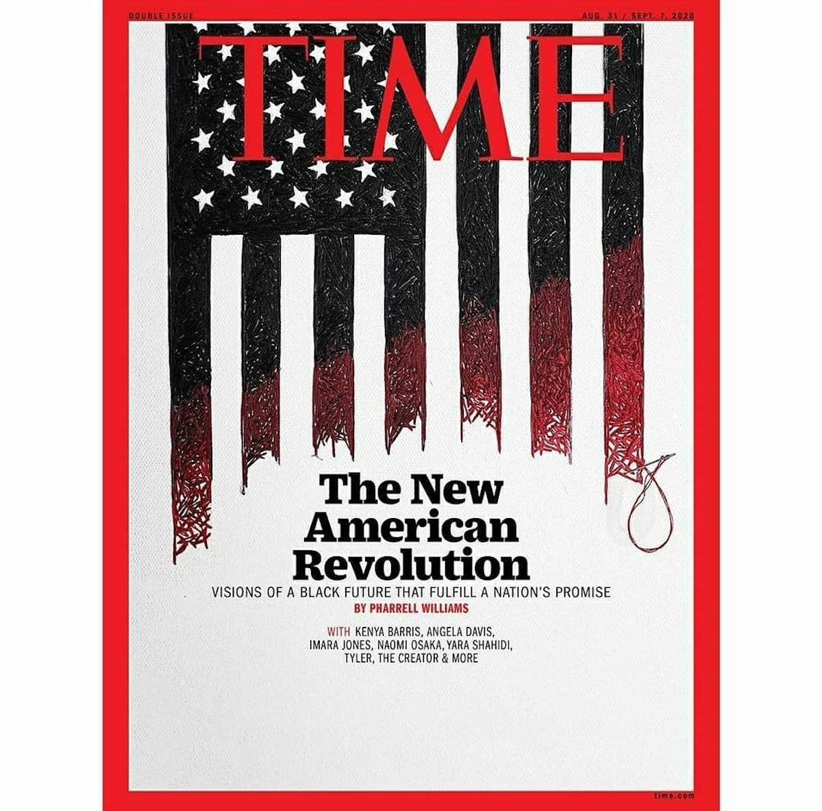 TIME Magazine Cover by Nneka Jones