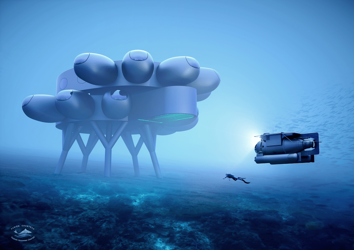 laboratorio proteus de Fabien Cousteau