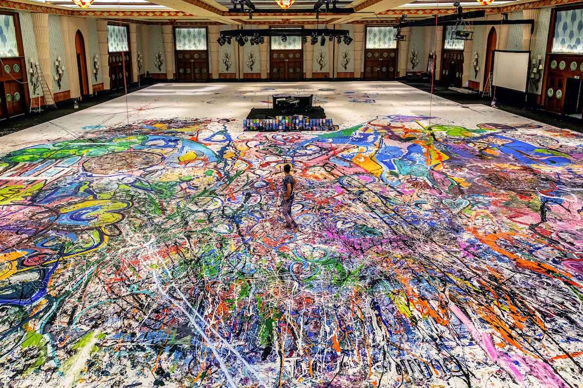 World's Largest Painting by Sacha Jafri