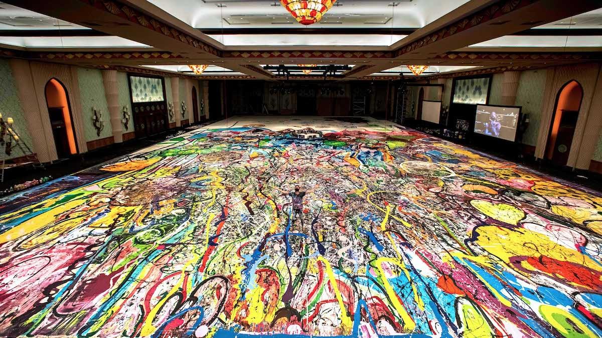 World's Biggest Painting by Sacha Jafri