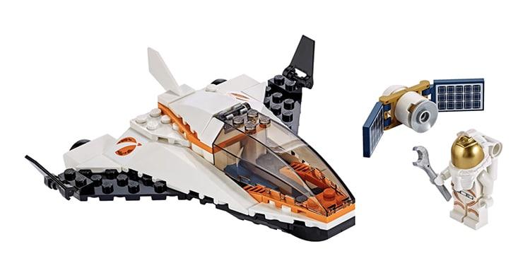 Satellite Service Mission LEGO Set