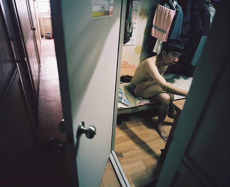 Man in a Goshiwon