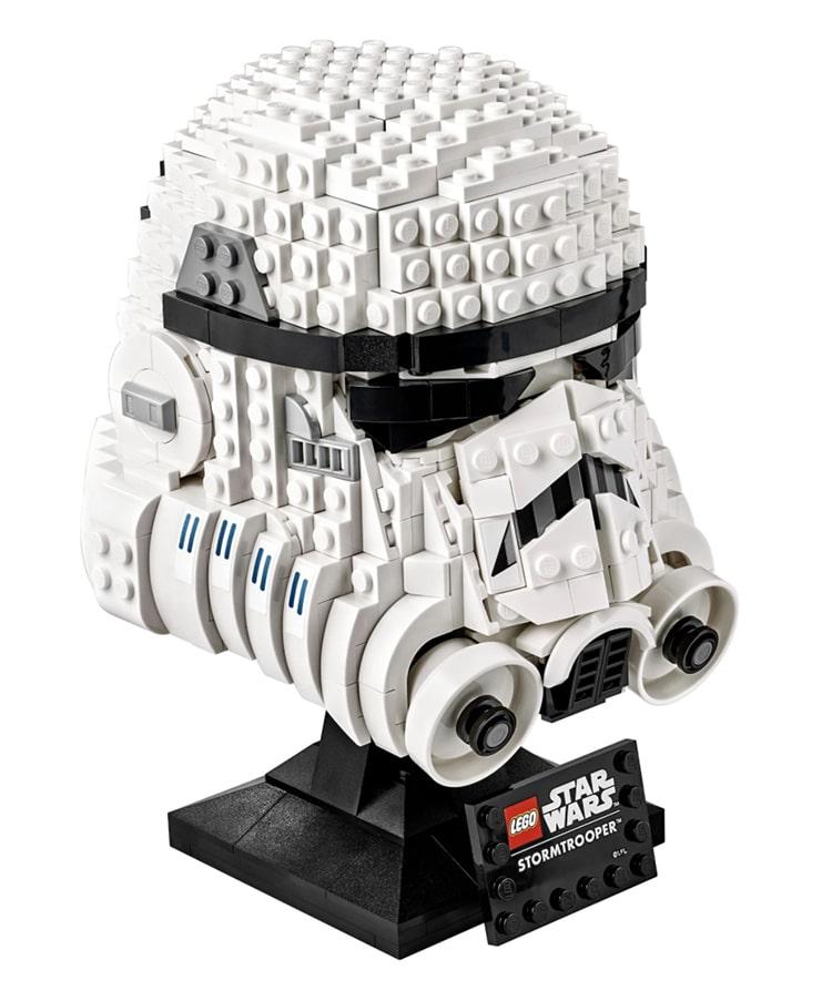 Stormtrooper Helmet LEGO Set