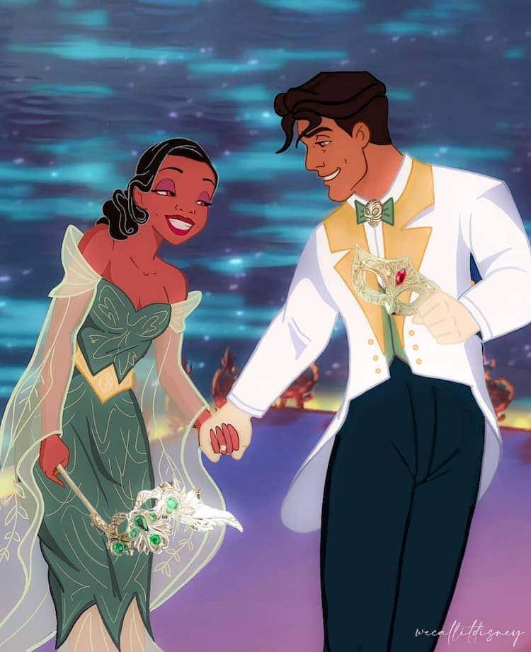 Disney Princess Fanart by Maria Sanchez Garcia