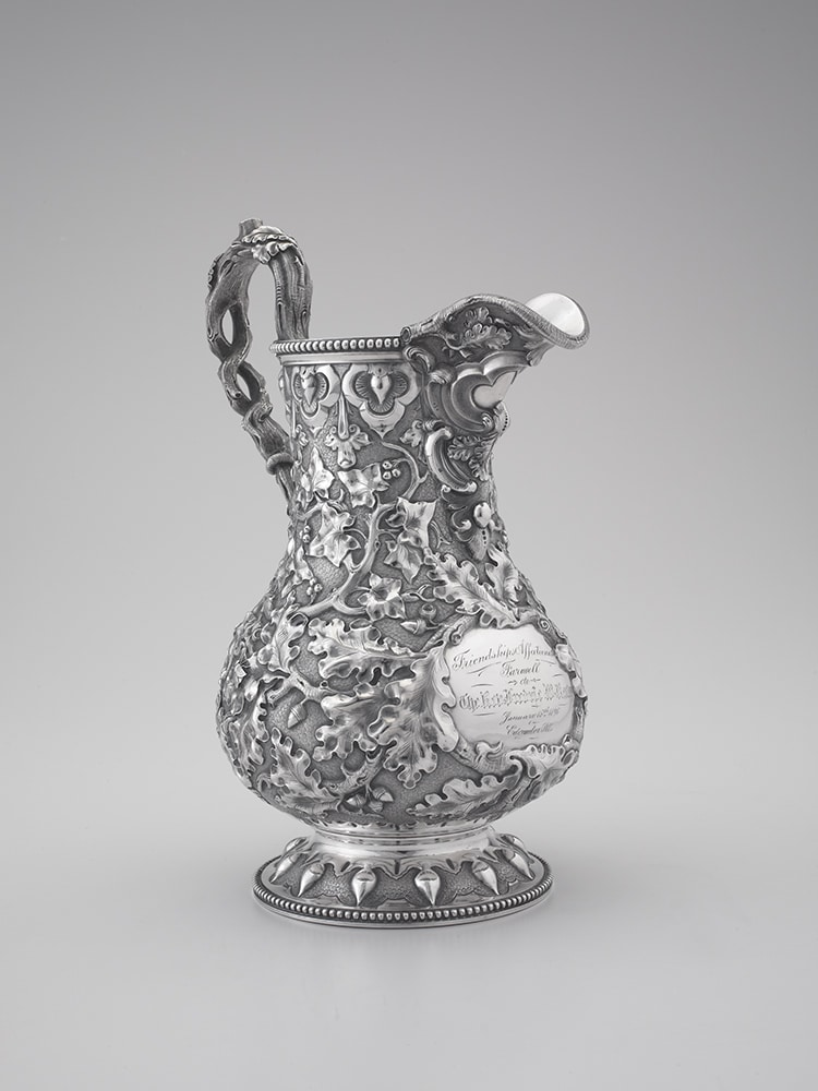 Tiffany Silver Pitcher