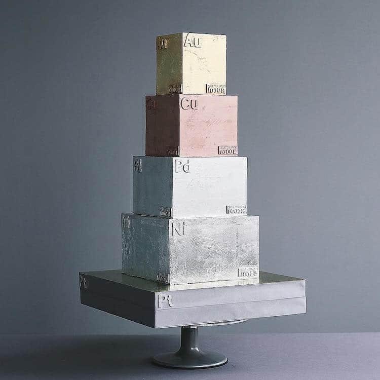 Pasteles esculturales de Tortik Annuchka