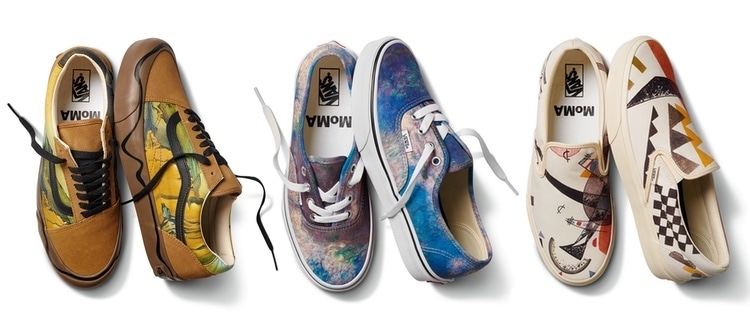 Vans MoMA Collaboration Shoes