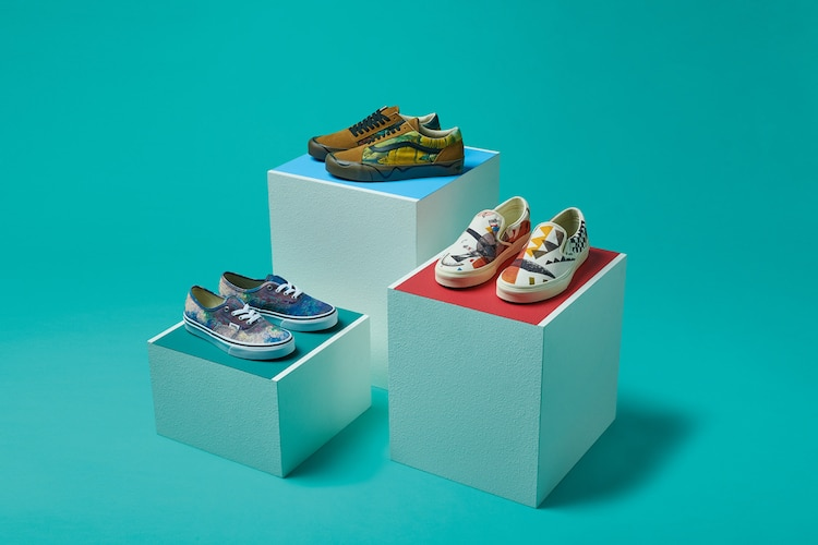 Famous Artist Vans Shoes