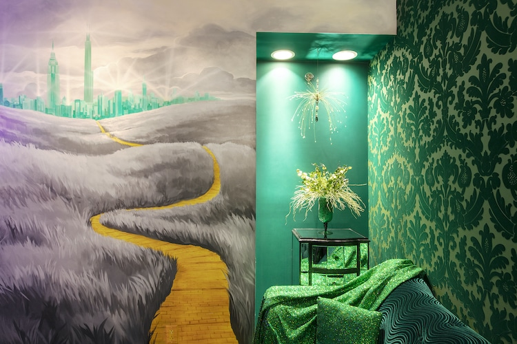 Wizard of Oz-Themed Hotel Room by The Roxbury