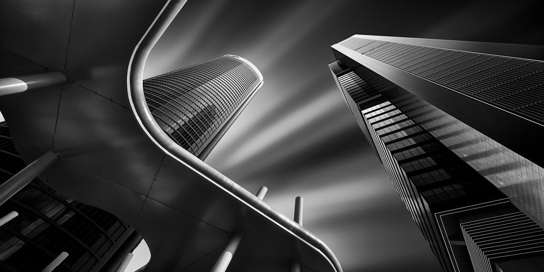 Cuatro Torres financial complex in Madrid