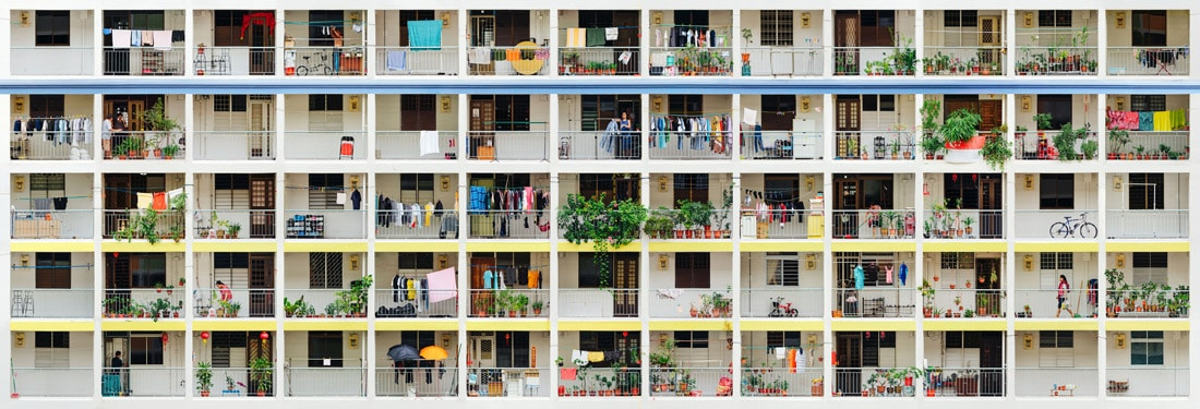 GigaPixel Image of an Apartment Building in Singapore