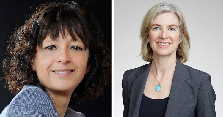 Emmanuelle Charpentier and Jennifer Doudna - Winners of the Nobel Prize for Chemistry