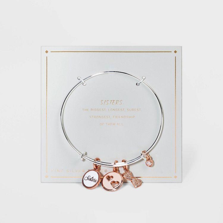 Sisters Charm Bracelet