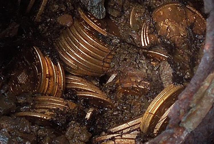 Saddle Ridge Hoard Coins