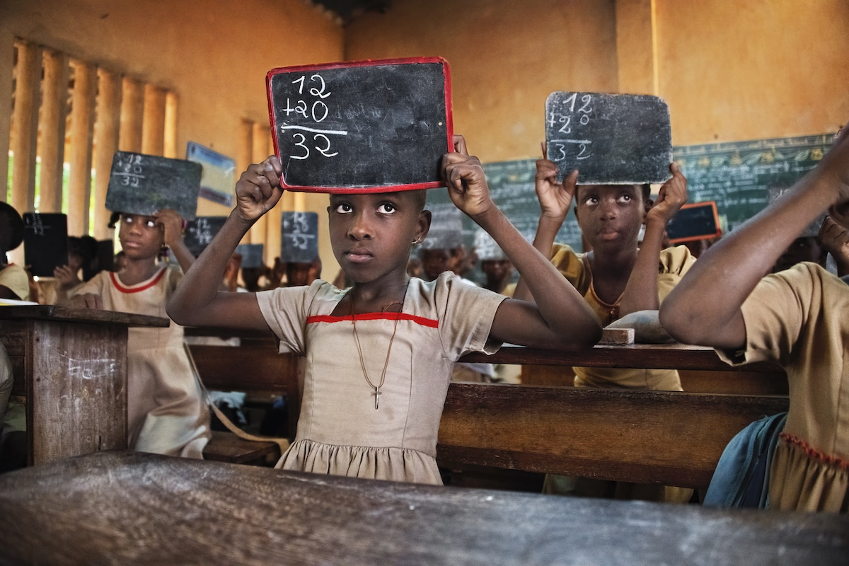 Schoolroom in Togo by Steve McCurry