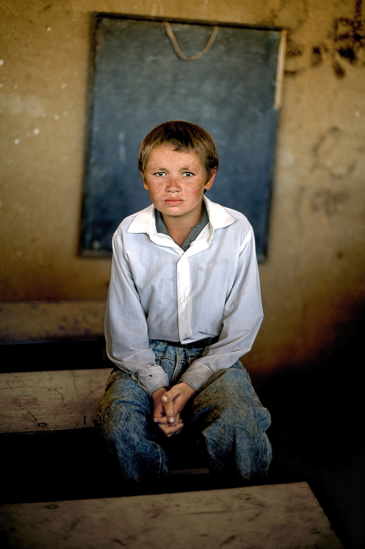 Portrait of a Boy from Afghanistan by Steve McCurry