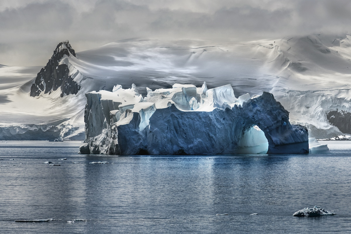 Iceberg in Antarctica by Steve McCurry