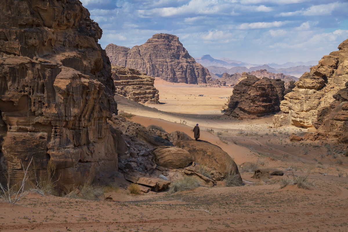 Wadi Rum Jordan by Steve McCurry