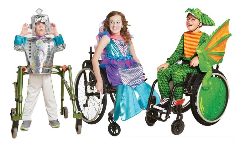 Disfraces de Halloween adaptables