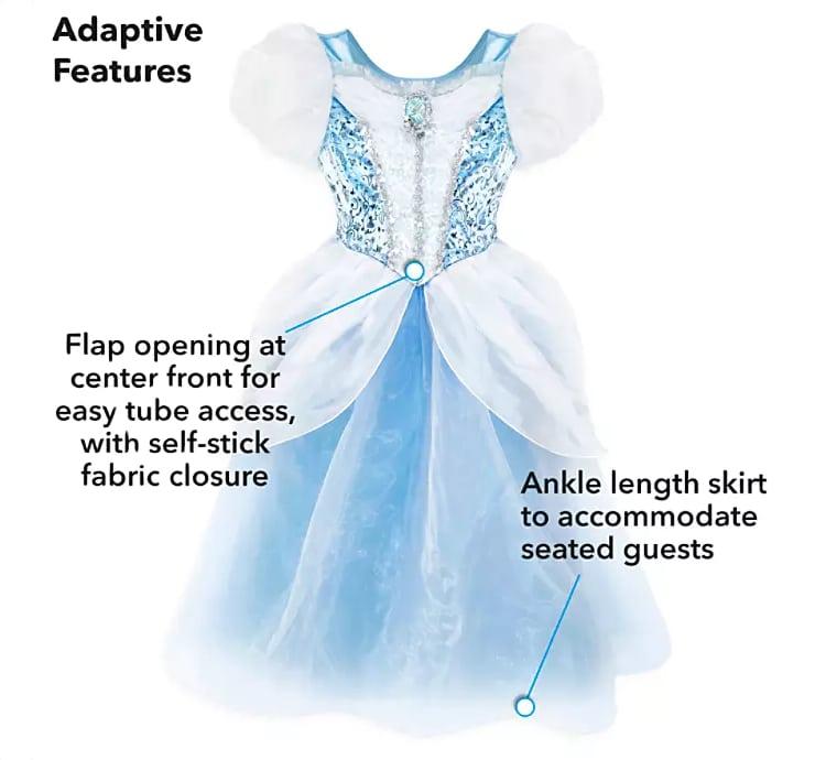 Disfraz adaptable de Cenicienta
