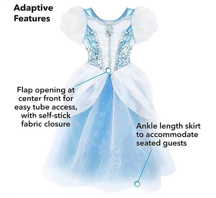 Adaptive Cinderella Halloween Costume