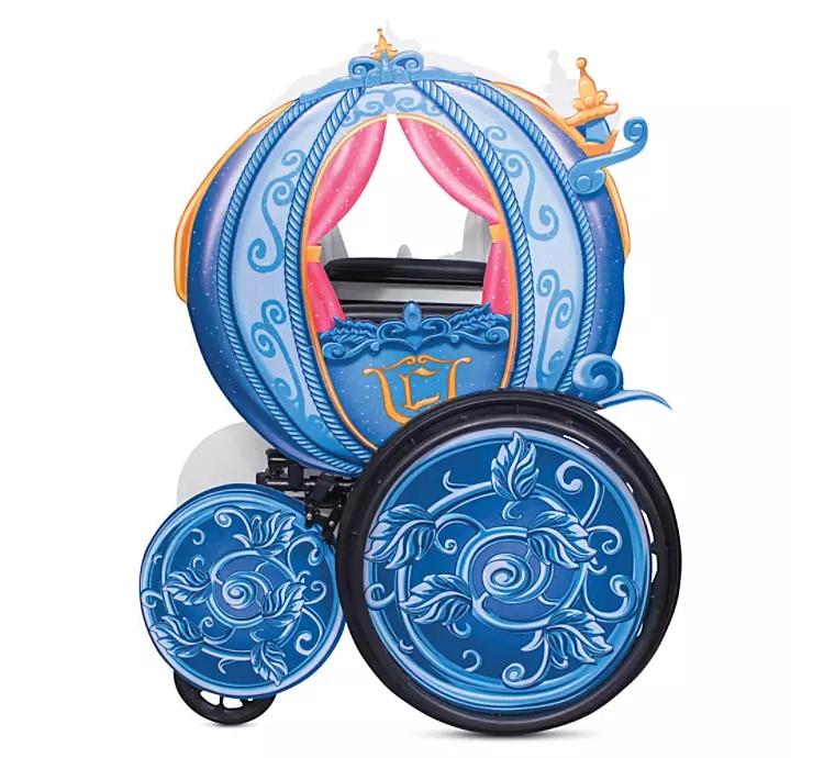 Cinderella Stagecoach Wheelchair Cover
