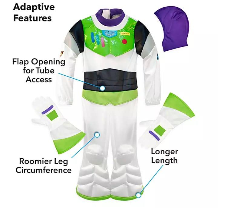 Disfraz adaptable de Buzz Lightyear