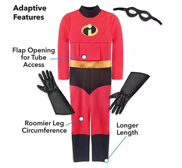 Disfraz adaptable de Los Increíbles