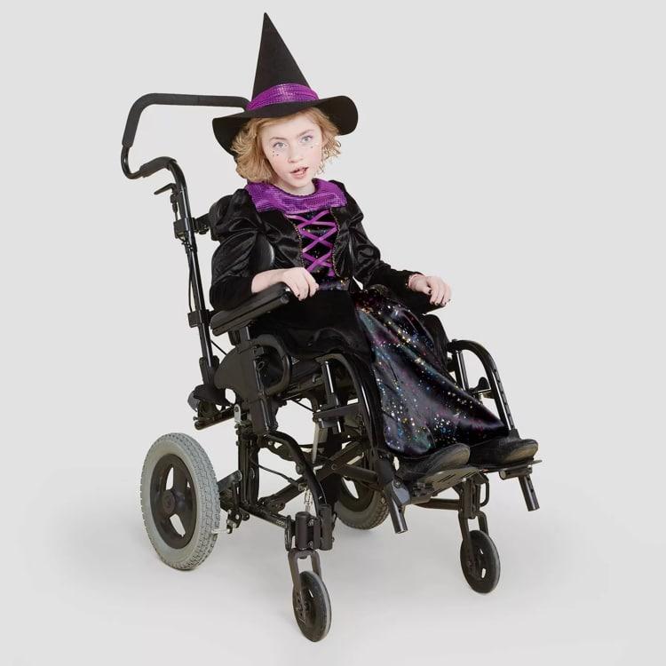 Kids Witch Adaptive Halloween Costume
