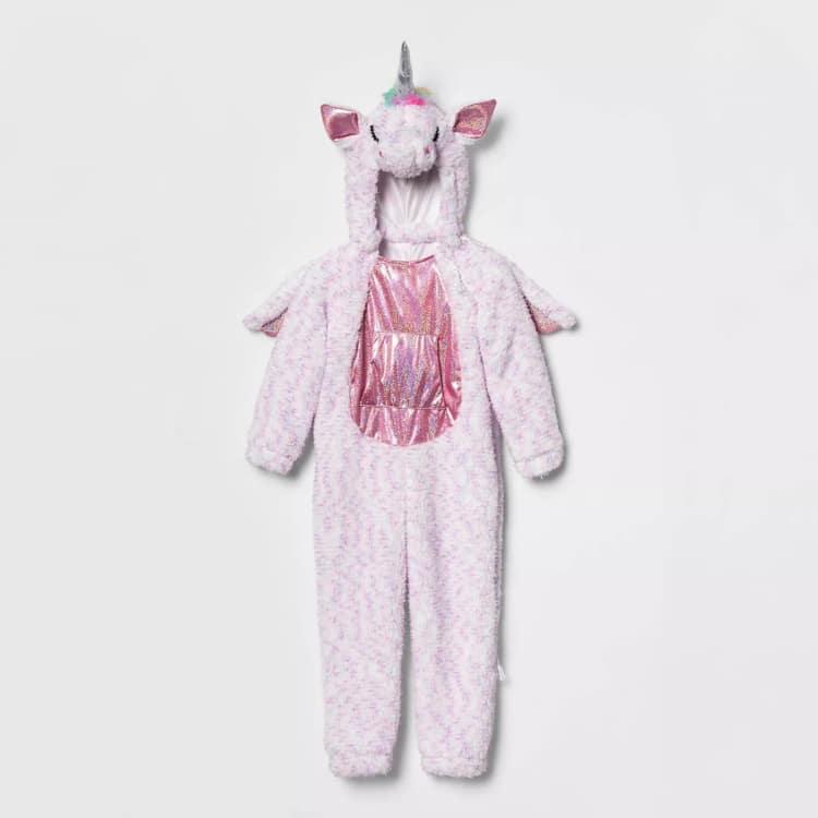 Disfraz de unicornio para niños con sensibilidad sensorial