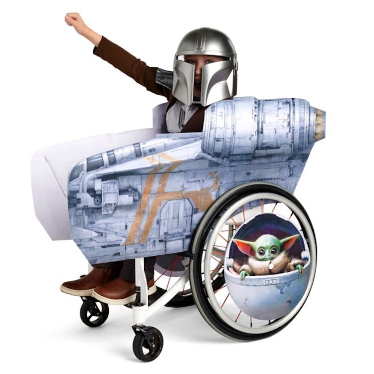 Mandalorian Adaptive Costume and Wheelchair Cover for Kids