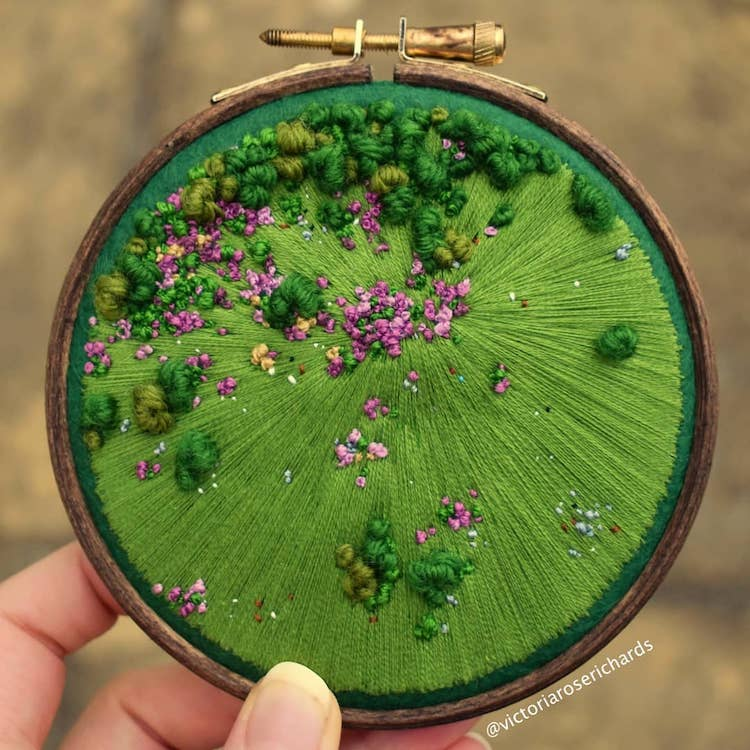 Embroidery Designs by Victoria Rose Richards