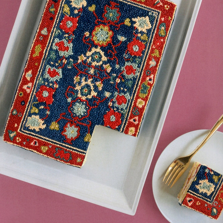 Persian Rug Cake Decoration by Alana Jones-Mann