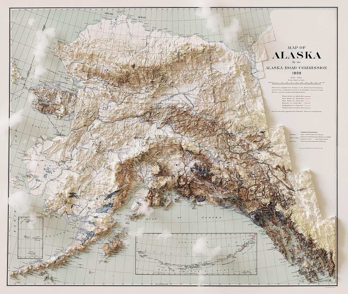 Alaska Cloud Map
