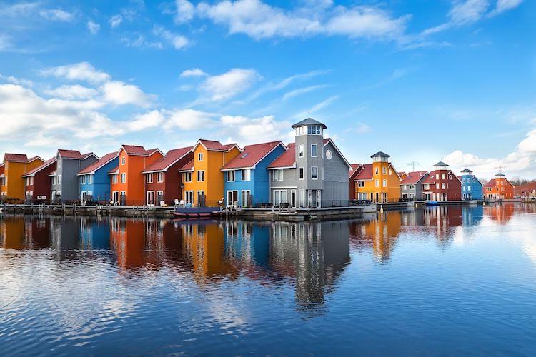 Groningen province in the Netherlands