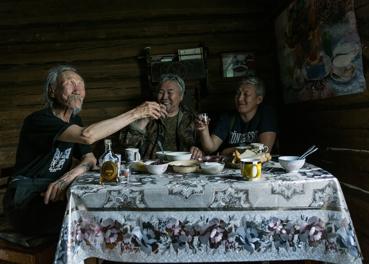Filmmakers in Yakutsk