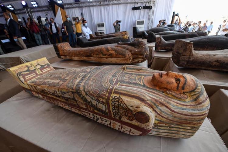 Wood Coffin Found in Saqqara