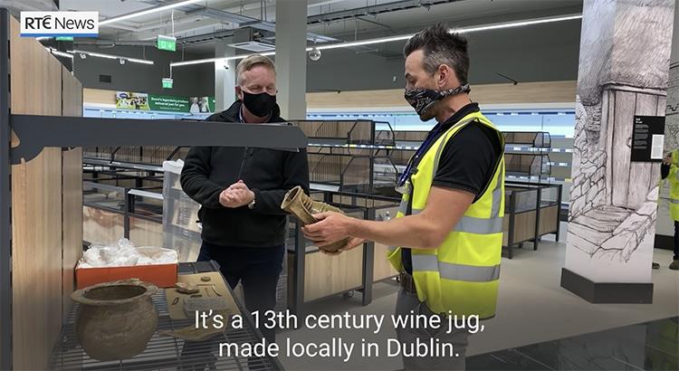 Artifacts Dublin Lidl