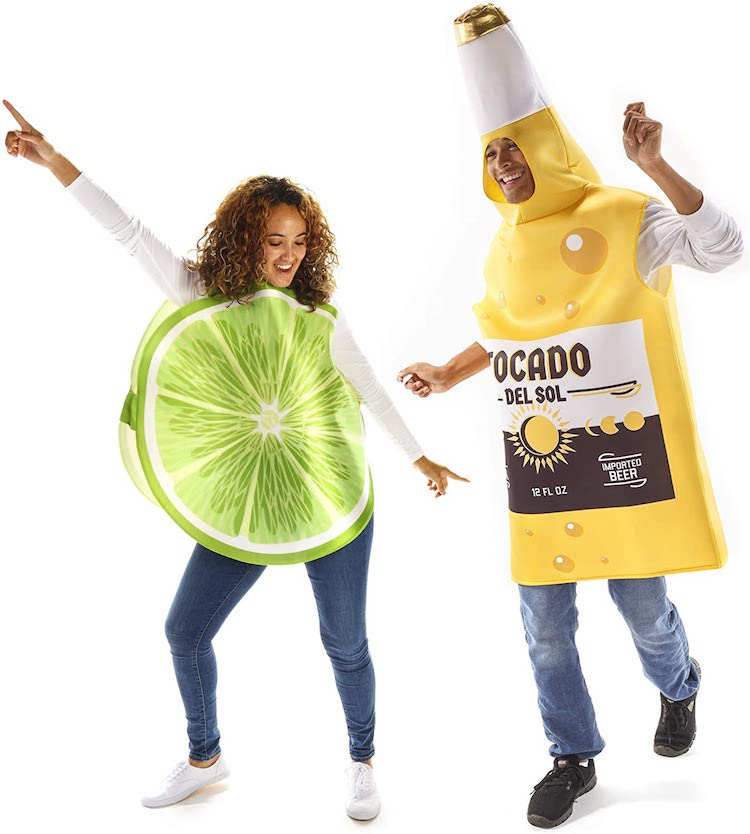 Beer and Lime Couples Costume