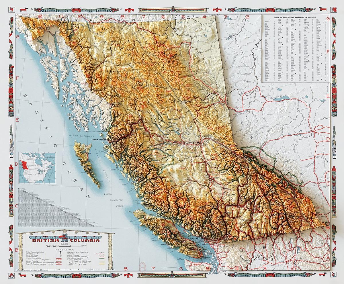 British Columbia 1946 Elevation Data Sean Conway