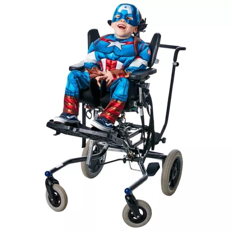 Captain America Adaptive Halloween Costume for Kids