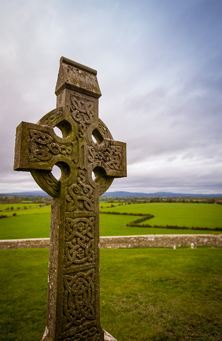 Celtic Knots Cross Irish