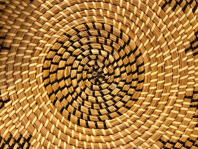 Coil Woven Basket