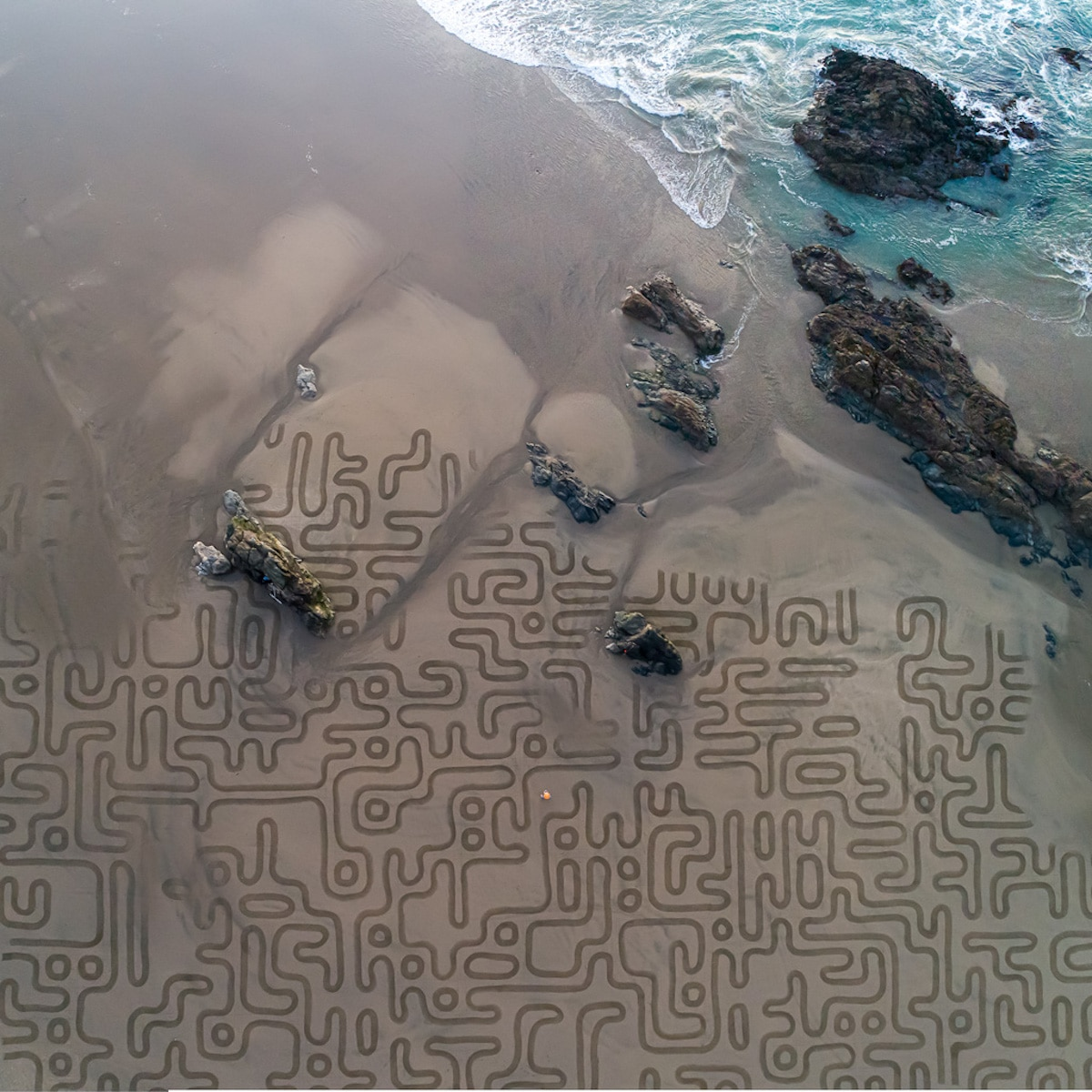 Sand Art by Andres Amador