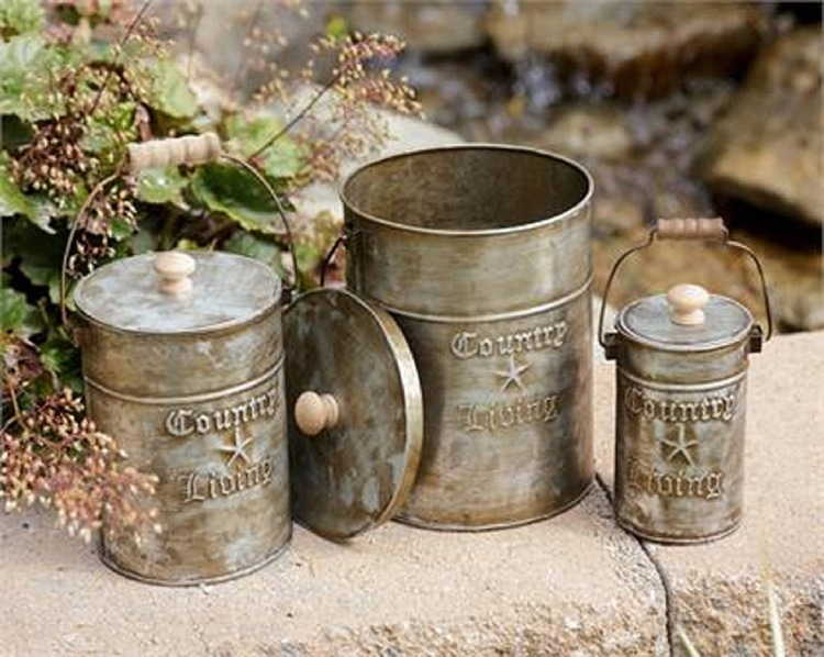 Country Living Kitchen Tins