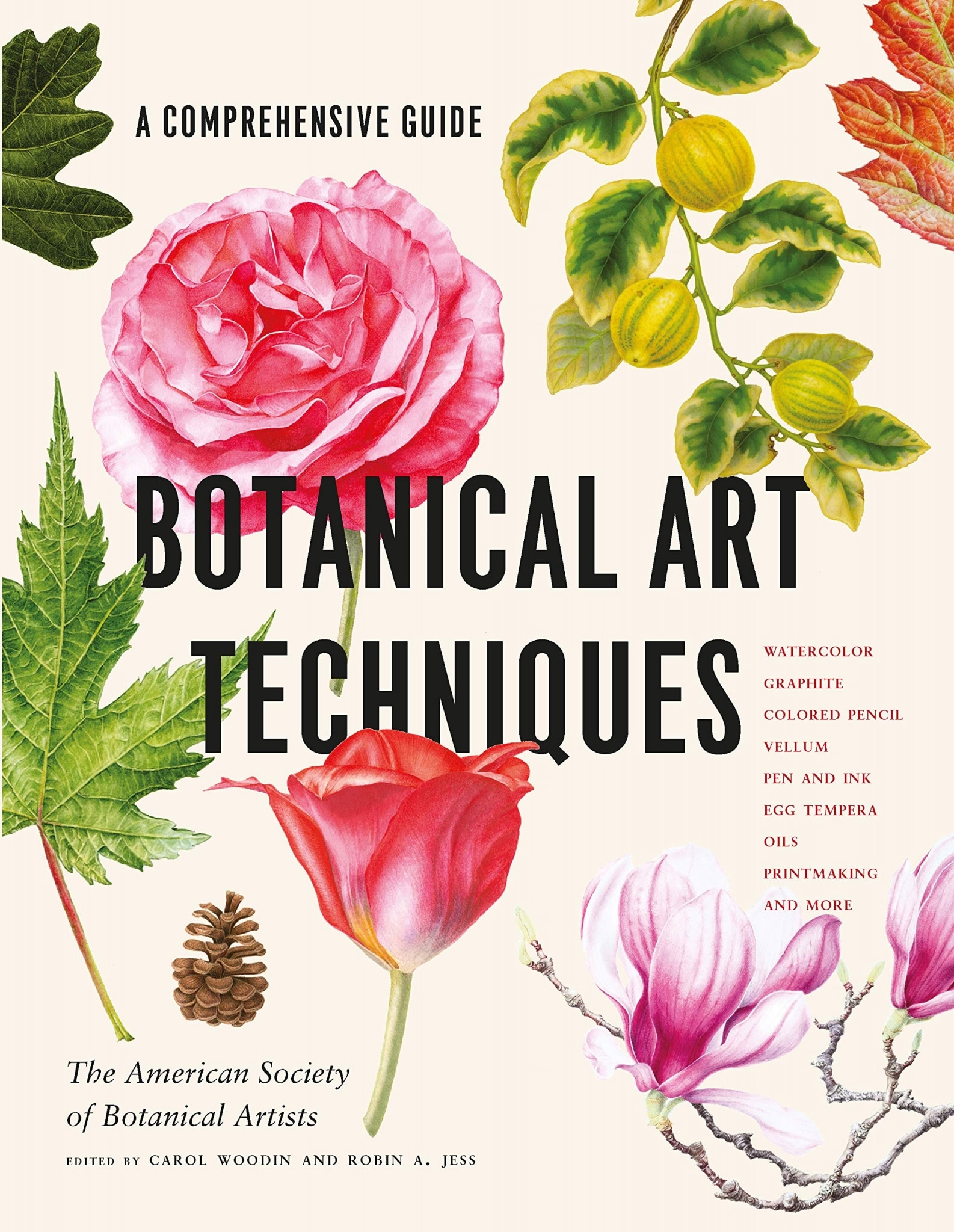 Botanical Art Techniques Book